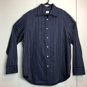 Armani Collezioni Button Front Long Sleeve Shirt